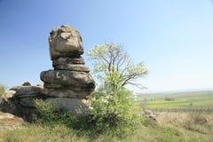Ongebruikelijke natuurlijke rotsvorming Royalty-vrije Stock Afbeeldingen