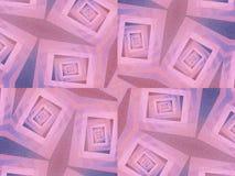 Ongebruikelijke Texturen in Blauw Roze stock illustratie