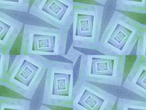 Ongebruikelijke Texturen in Blauwgroen Royalty-vrije Stock Fotografie