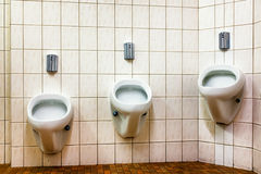 Ongebruikelijke urinoirs Royalty-vrije Stock Afbeeldingen
