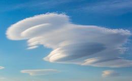 Ongebruikelijke Wolkenvorming Royalty-vrije Stock Afbeeldingen