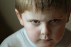 Ongehoorzaam Little Boy Stock Afbeeldingen