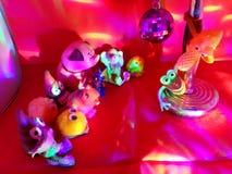 Ongehoorzaam stuk speelgoed nachtverhaal 2 royalty-vrije stock foto