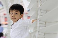 Ongehoorzame jongen Royalty-vrije Stock Fotografie