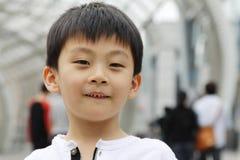 Ongehoorzame jongen Royalty-vrije Stock Afbeeldingen