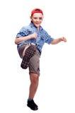 Ongehoorzame jongen Stock Foto's