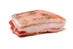 Ongekookt varkensvlees Stock Foto's