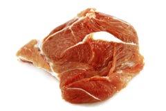 Ongekookt varkensvlees Stock Foto