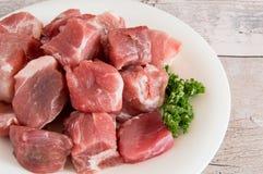 Ongekookt varkensvlees Royalty-vrije Stock Afbeelding