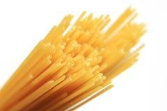 Ongekookte spaghetti Stock Afbeelding