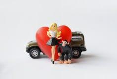 Ongelijk huwelijk Royalty-vrije Stock Foto's
