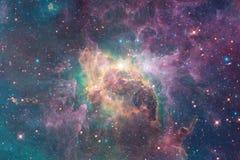 Ongelooflijk mooie melkweg ergens in diepe ruimte Science fictionbehang stock afbeelding