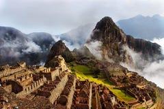 Ongelooflijke reis aan Machu Picchu stock foto