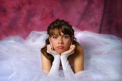 Ongelukkige Bruid Royalty-vrije Stock Afbeelding