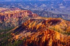 Ongeluksboden van Bryce Canyon Utah royalty-vrije stock afbeelding