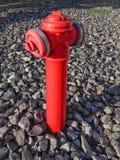 Ongeopend close-up van rode hydrant royalty-vrije stock afbeeldingen