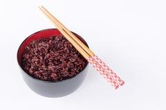 Ongepelde rijst van Thailand Royalty-vrije Stock Afbeeldingen