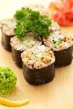Ongepelde rijstbroodje Stock Afbeelding