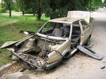 Ongeval. royalty-vrije stock foto's