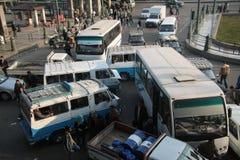 Ongeval in Kaïro Royalty-vrije Stock Foto's