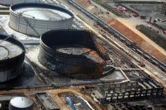 Ongeval van energieopslag Royalty-vrije Stock Foto's