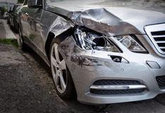 Ongevallenauto Stock Foto