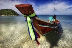 Ongeveer Thai boot-2 Royalty-vrije Stock Afbeelding