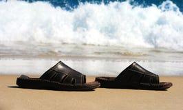 Ongeveer worden onder water gezet om Stock Foto's