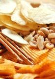 Ongezonde snack Stock Fotografie
