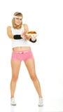 Ongezonde voedselweigering - dieet Stock Afbeeldingen