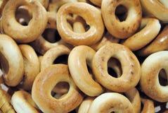 Ongezuurde broodjes Stock Foto's