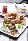 Ongezuurde broodjes Royalty-vrije Stock Afbeelding