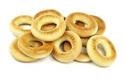 Ongezuurde broodjes Stock Fotografie