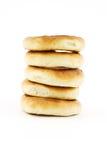 Ongezuurde broodjes Stock Foto