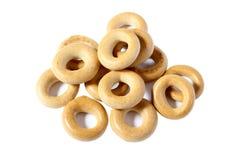 Ongezuurde broodjes, het Drogen Stock Foto's