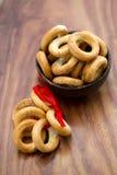 Ongezuurde broodjes met papaverzaden Royalty-vrije Stock Afbeelding
