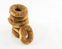 Ongezuurde broodjes voor ontbijt Stock Afbeelding
