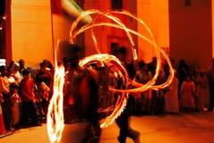 żonglerem Obraz Royalty Free