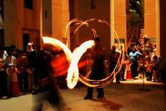 żonglerem Zdjęcie Royalty Free