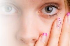 Ongles Photographie stock libre de droits