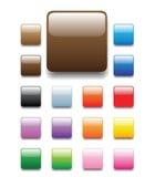 Onglets carrés brillants Illustration de Vecteur