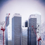 Ongoing construction Stock Image