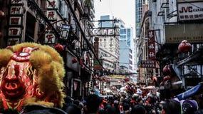 Ongpin ulica w Binondo, Manila fotografia stock