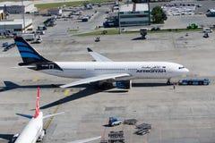 5A-ONH Afriqiyah Airways Aerobus A330-203 Fotografia Stock