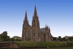 Onheuglijke kerk Royalty-vrije Stock Fotografie