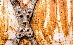 Ośniedziały metal Fotografia Stock