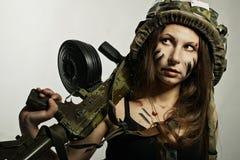 Żołnierz pomyślność Fotografia Stock