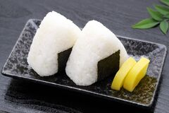 Onigiri, Japanese food, Japanese rice ball