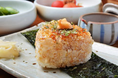 Onigiri - rice balls Royalty Free Stock Photography