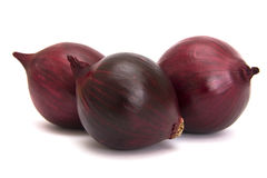 Onion. Red Onions on white with soft shadow Royalty Free Stock Photo